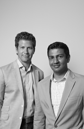 Founders, Bryan Burkhart and Sonu Panda